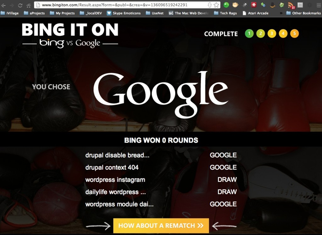 essays on google vs bing Google has been synonymous with search for years, and bing—poor bing— quickly became synonymous with sarcasm about why anyone.